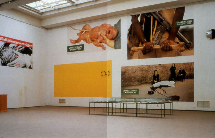 Exhibition Shot, Art meets Ads, Kunsthalle Düsseldorf 1992
