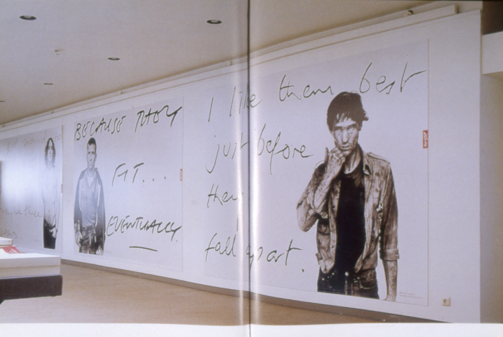 Exhibition Shot, Art meets Ads, Kunsthalle Düsseldorf, 1992