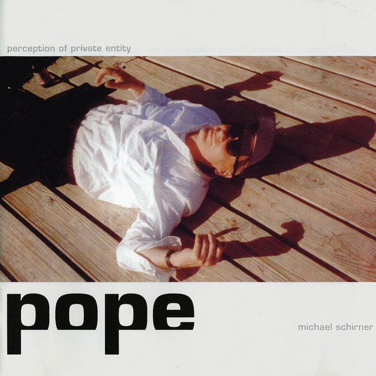 POPE, Pop-CD von Michael Schirner, 1999, CD-Cover