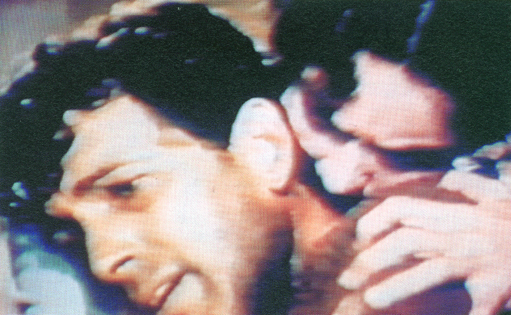 Video-Still, Tausend Küsse, 1983